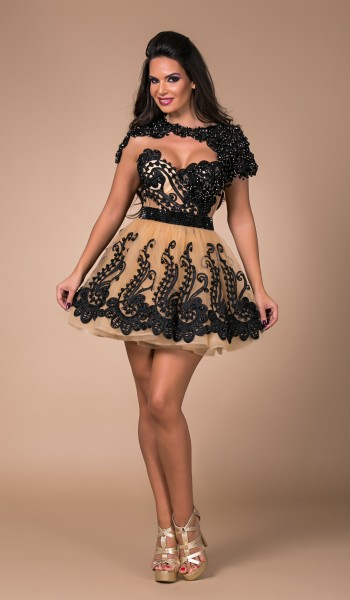 ROCHIE  BABY DOLL BRODERIE